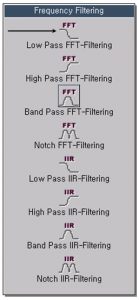 Low Pass FFT-Filtering 1