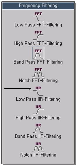 Low Pass IIR-Filtering 1