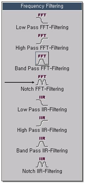 Notch FFT-Filtering 1