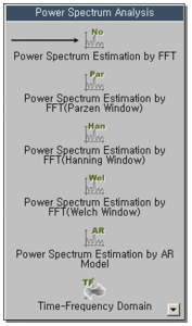Power Spectrum Estimation by FFT 1