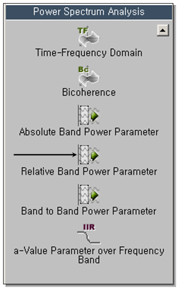 Relative Band Power 1