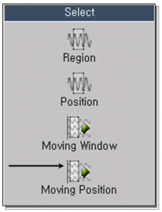 Selection Using Moving Position 1