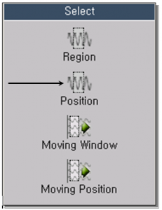 Selection of Position 1